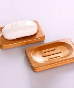 porte savon bois plaque
