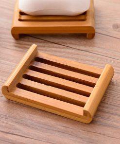 porte savon bambou design