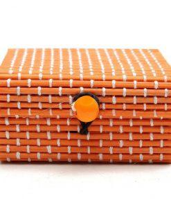 boite à savon orange