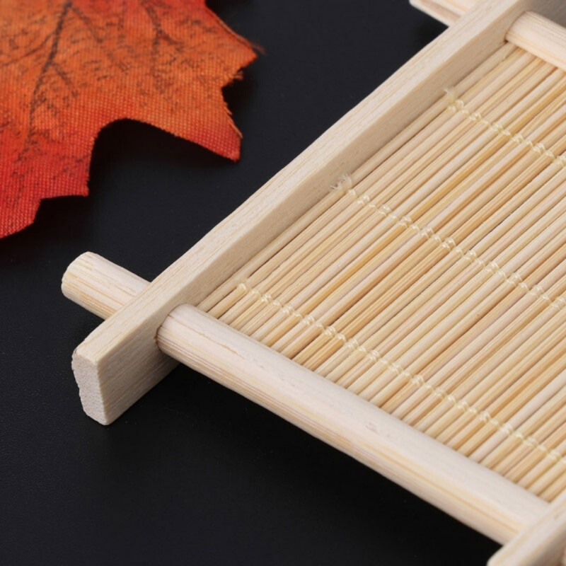 porte savon bois bambou