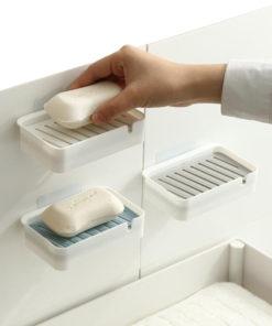 porte-savon blanc