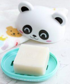 "porte-savon ""hello panda"""