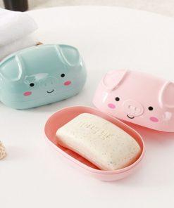 porte-savon cochon