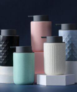 distributeur savon textured